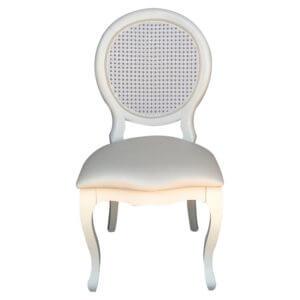 Cadeira Medalhão Branca