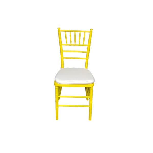 Cadeira Tiffany Amarela