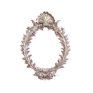 Espelho Folha Prata