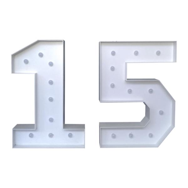 Numerais 15