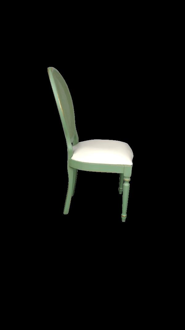 Cadeira Medalhão Verde
